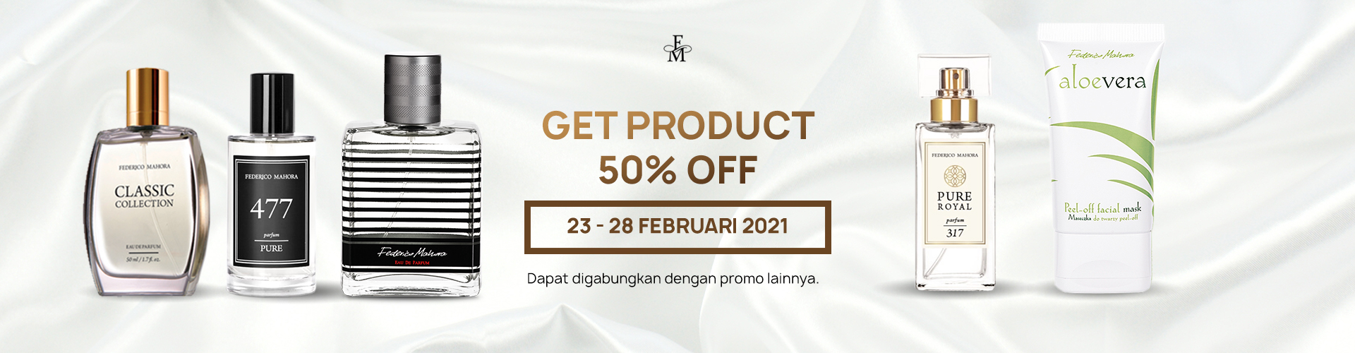 GET PRODUCT 50% OFF