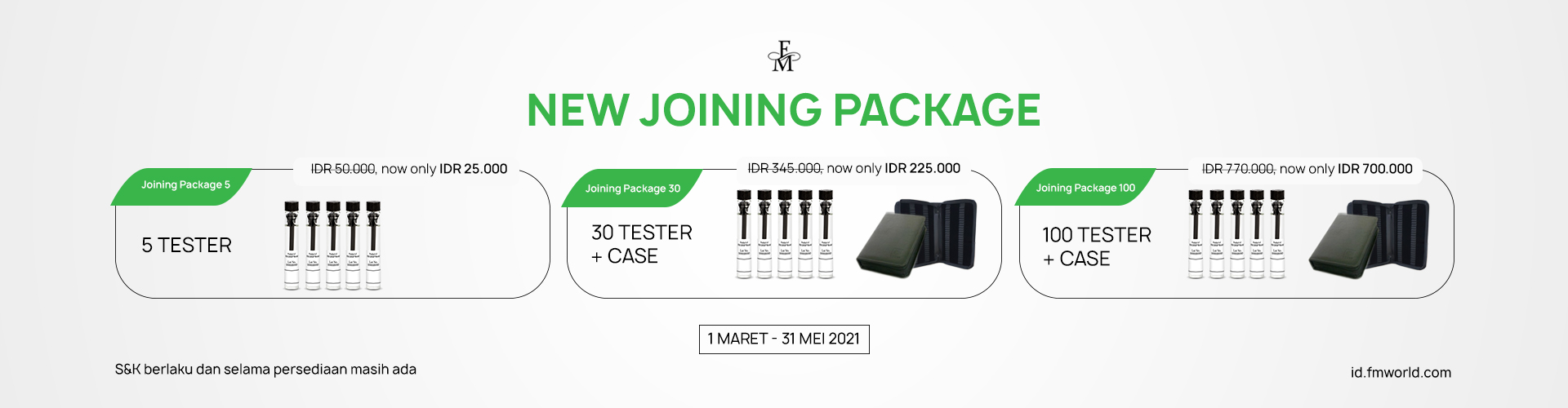 NEW JOINING PACKAGE
