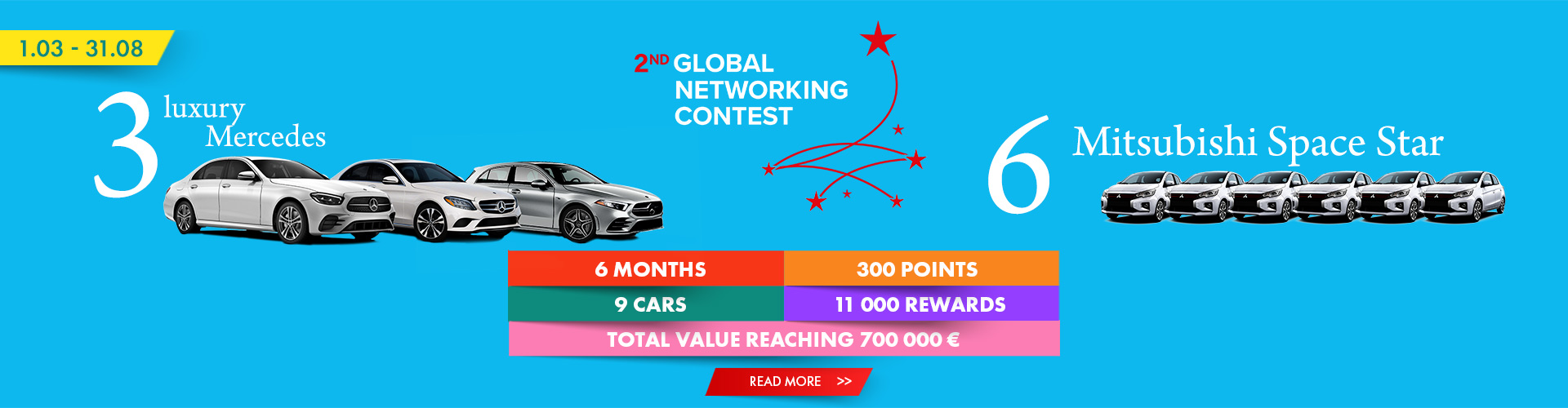 2nd Global Networking Contest-flyer