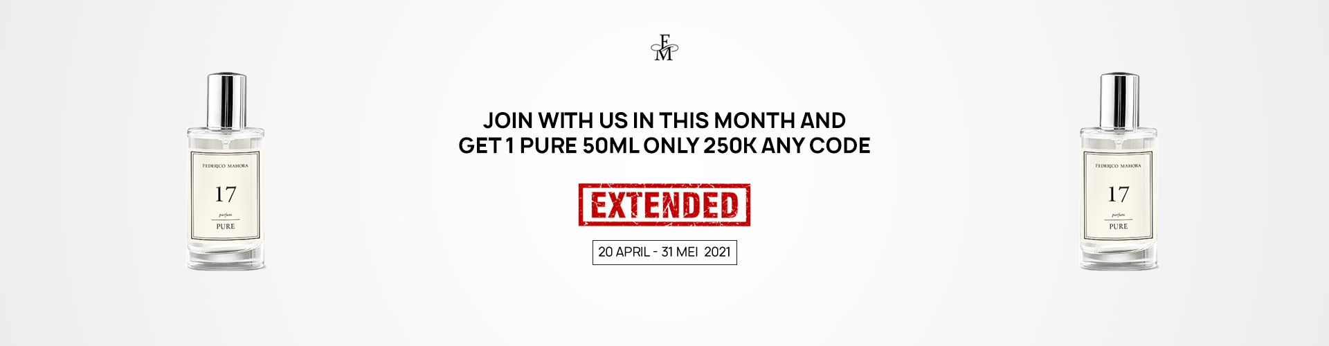 JOIN WITH US IN THIS MONTH AND GET 1 PURE 50ML ONLY 250K ANY CODE